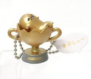 Gudetama Lazy Egg Mascot Swing PVC Keychain SD Figure Charm~ #E Golden Egg@85245