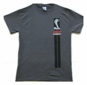 FORD COBRA SVT SHIRT IN CHARCOAL ONLY AVAILABLE IN 4X LICENSED BY FORD