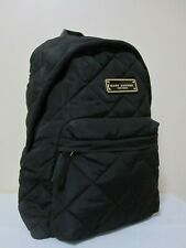 Marc Jacobs Black Quilted Nylon Backpack Bag Handbag