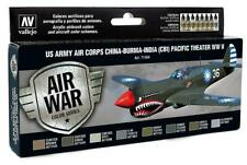 Vallejo 71.184 - Colour Kit, USA Aircraft WWII, 8 x 17 ML (14,56 €/ 100ml) - New