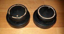 1 Paar Drehknöpfe aus Grundig Weltklang 398W - Röhrenradio Ersatzteil