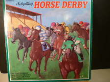 .SCHYLLING HORSE DERBY WIND-UP TOY - TIN LITHO REPRODUCTION NIB