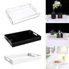 Acrylic Tray Organiser Cosmetic Display Storage Jewellery Case Kitchen Organizer