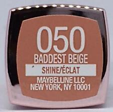 Maybelline Color Sensational Shine Lipstick 050 Baddest Beige 0.1 Oz NEW