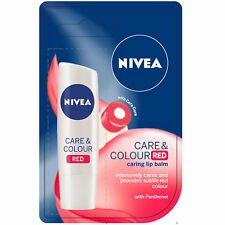 [NIVEA] Care & Colour RED Moisturizing Caring Tinted Lip Balm 4.8g NEW