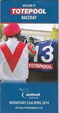 Racecard - Southwell 23rd April 2014