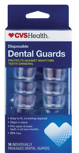 CVS Health Dental Guards 16 Count BPA-free all size mouths