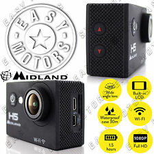 IDEA REGALO DI NATALE - VIDEOCAMERA Action Cam Midland H5 Full HD e WiFi C1208
