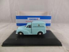 Oxford Diecast MM020 Morris Minor Van Television Licence Investigation in Blue