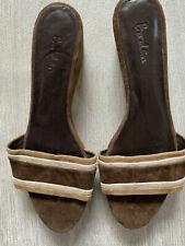 Sandalias de Cuña Boden Gamuza Talla 42 Reino Unido 8 nuevo AR379