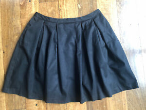 Laura Ashley black A-line classy skirt - size 16 - as new