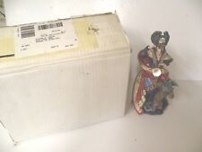 """Quest For The Crystal """"The Sorceress"""" Figurine Crystal Danbury Mint"""