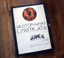 ~ 1968 LYSISTRATA ~ NY Land's End Press ~ Jack Brussel~ AUBREYBEARDSLEY~ SIGNED