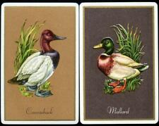 VINTAGE GEESE CARDS VERY BEAUTIFUL (NEW) X2 CARDS PAIR