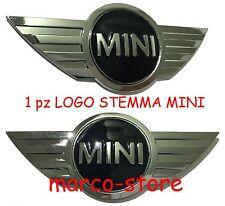 STEMMA FREGIO MINI Cofano Anteriore COOPER ONE D S DE LUXE 2002 - 2015 12x5 cm