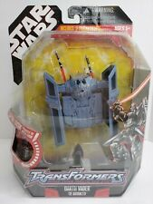 Star Wars Transformers Darth Vader TIE Advanced (2006) Hasbro Toy Figure