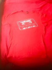 Beastie Boys Mens T-shirt Medium Red Posse In Effect N95 Hip-Hop Music 80's Tape