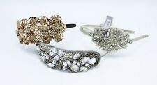 New 3 Piece Lot of Fancy Sequin Rhinestone Headbands from Target NWT #3HB1