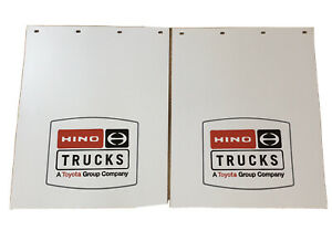 NEW OEM Hino Rear Mud Flaps mudflaps - PAIR 24x30 FA FB 145 155 165 185 195