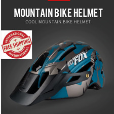 Batfox Bicycle Helmet Black Ink Green Cycling Helmets Mtb Road Mountain Bike New