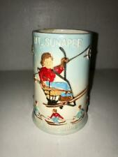 VINTAGE MT. SUNAPEE NEW HAMPSHIRE Ski Resort Souvenir Mug