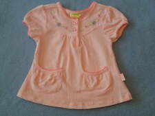 Pumpkin Patch Gorgeous Little Girls Pink Top With Embroidery, Size 3-6 Months