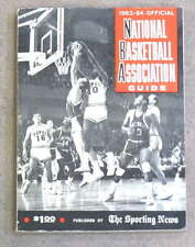 THE SPORTING NEWS TSN NBA BASKETBALL GUIDE - 1963 1964