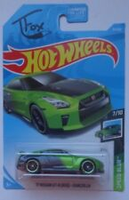 2019 Hot Wheels SPEED BLUR 7/10 '17 Nissan GT-R (R35) - Guaczilla 61/250 (T Fox)