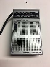 Vintage General Electric AM/FM Stereo Headset Radio 7-2582C Used Tested