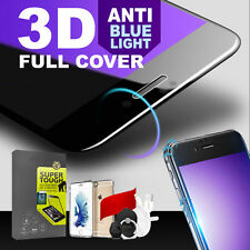 3D Full Coverage Blue Ray Tempered Glass Screen Protector for iPhone 7 Plus