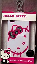 Original Sanrio Hello Kitty Hard Case Phone Cover for Apple iPhone 4/4S BNiB