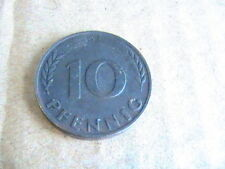 Germany 10 Pfennig  1950 D COIN