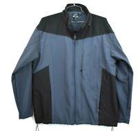 Nordic Track Mens XL Gray Full Zip Fleece Lined Heavyweight Jacket Coat Winter
