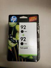 HP 92 Ink Cartridge Black C9362WN - 2 Pack