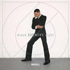 MAXWELL black SUMMER'S night CD ALBUM (Released July 1st 2016)