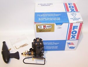 New In Box Fox .35 50th Anniversary Collectors Edition Model Airplane Engine
