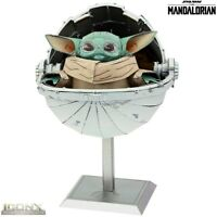 Metal Earth ICONX Star Wars THE CHILD BABY YODA Model Building Kit Mandalorian