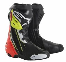 Alpinestars Supertech R Red/Wht/Black/FLUO(136)Racing & Sport Motorcycle Boots