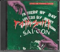 "PATTI SMITH - RARO CD ITALY ONLY 1990 "" LIVE IN PARIS,1978 """