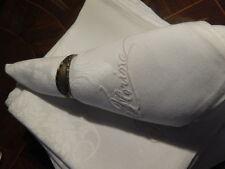 ~Antique~ Set Of 12 Damsak Linen Napkins~