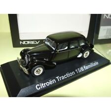 CITROEN TRACTION 15/6 FAMILIALE Noir NOREV 1:43