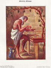 DENTISTA ETRUSCO E LE PROTESI DENTARIE. Medicina. Dentiste.Dentist.Zahnarzt.1929