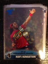 2013 Topps Best of WWE Top Ten Intercontinental Champion #4 Kofi Kingston