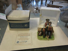 Norman Rockwell figure Figurine The Music Lesson Museum