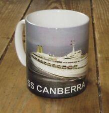 SS Canberra Ocean Liner Colour MUG