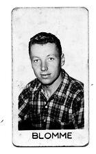 Rare petite carte photo 3,5x6,5 Donat à Lille c1955 Maurice Blomme (Belgique)