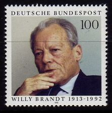 Germany 1993 Anniversary of the Birth of Willy Brandt, Politician SG 2549 MNH