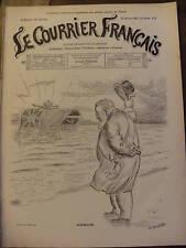 COURRIER FRANCAIS 1901 N 4 DESSIN DE WILLETTE :  ADSUM