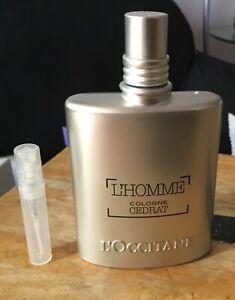 L'Occitane L'homme Cologne Cedrat 3 ml atomizer SEE DESCRIPTION NOT FULL BOTTLE