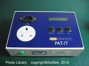 First Stop Safety PAT-IT PAT tester Kit, Calibrated (1Y)   Optional: 1Y Warranty